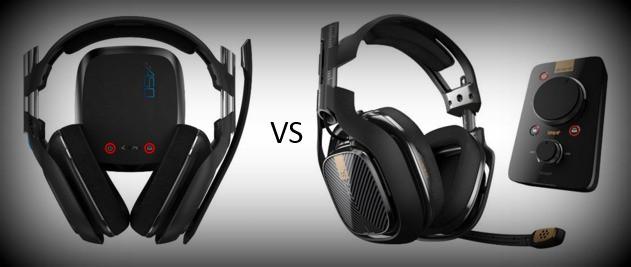 Astro A40 vs Astro A50 Headphones