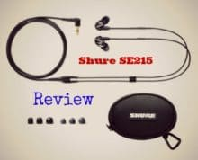 reviews of the Shure SE215 headphones