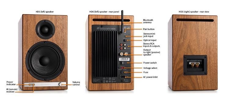 Audioengine HD6 speakers
