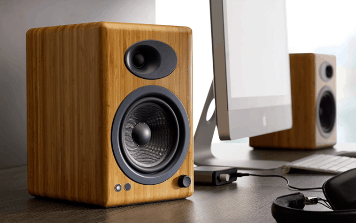 audioengine a5+ brown