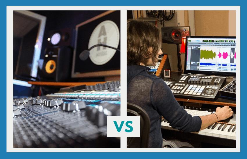 Logic Pro vs Pro Tools