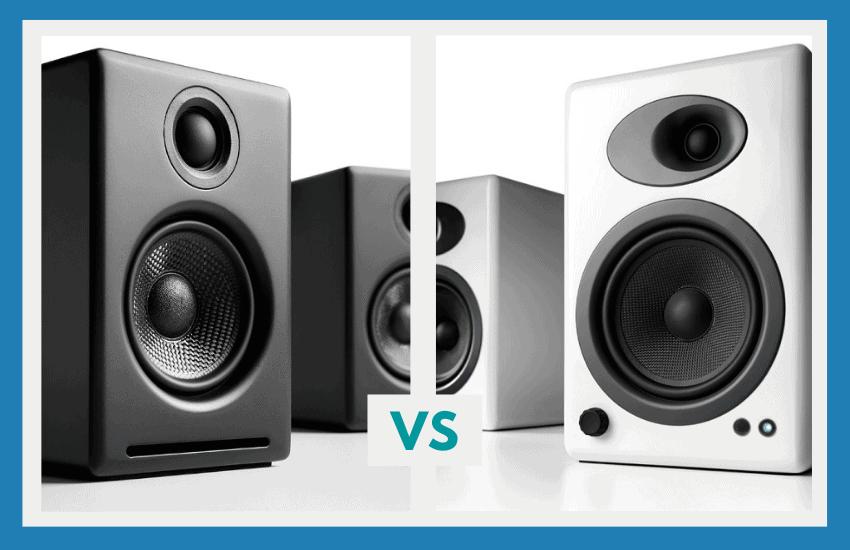 audioengine A2+ vs A5+
