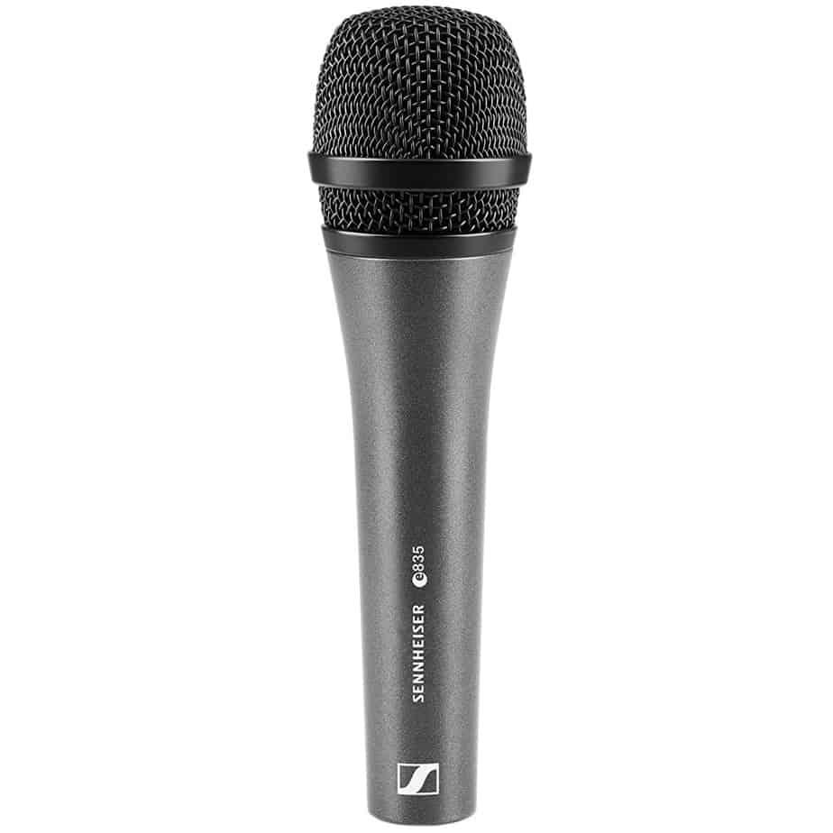 Sennheiser E835 Dynamic Cardioid Vocal Microphone | Guitar Center