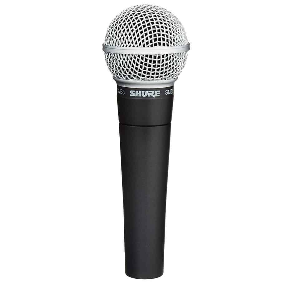 Shure SM58-LC Cardioid Dynamic Vocal Microphone | Guitar Center